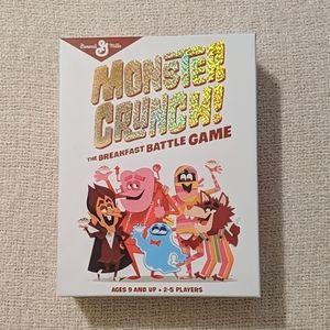 Monster Crunch Cereal The Breakfast Battle Game